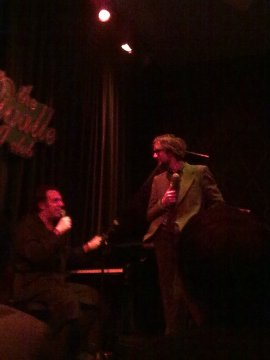 Chilly Gonzales and Jarvis Cocker @ The Pigalle Club, London