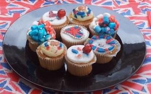 Jubilee Cupcakes from Eyup Cupcake